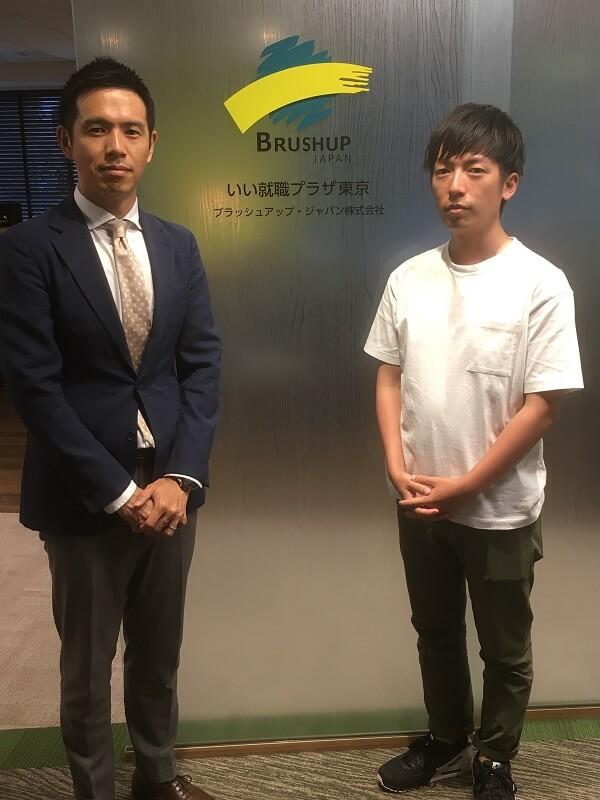 いい就職ドットコム(ブラッシュアップジャパン株式会社)の川村さんと大江さん